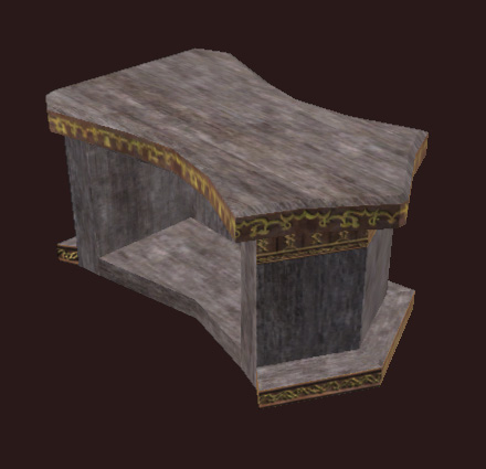 A Small Ornate Freeport Counter