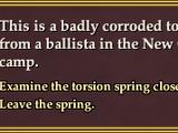 Corrupted Spring Investigation