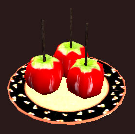 Scary Candied Apples