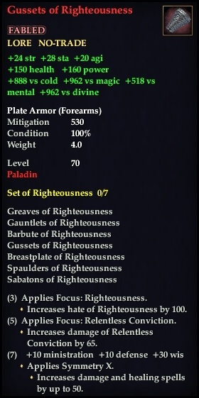 Gussets of Righteousness (Version 1)