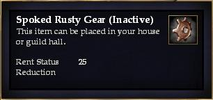 Spoked Rusty Gear (Inactive)