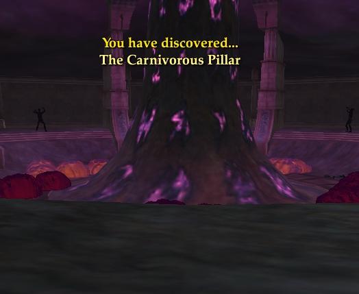 The Carnivorous Pillar