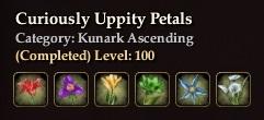 Curiously Uppity Petals
