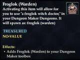 Froglok (Warden)