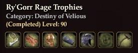 Ry'Gorr Rage Trophies