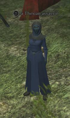 A Thexian assassin