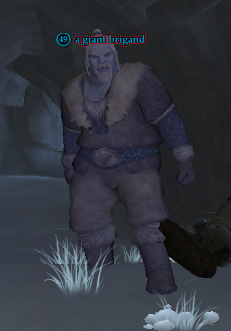 A giant brigand