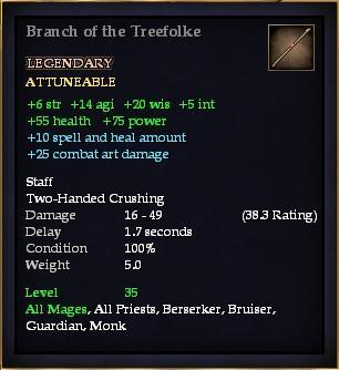 Branch of the Treefolke