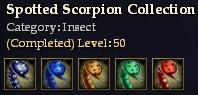 Spotted Scorpion Collection