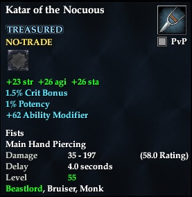 Katar of the Nocuous