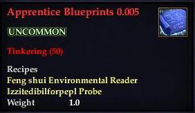 Apprentice Blueprints 0.005