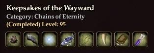 Keepsakes of the Wayward