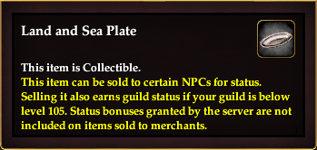 Land and Sea Plate