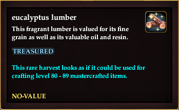 Eucalyptus lumber (Version 2)