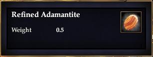 Refined Adamantite
