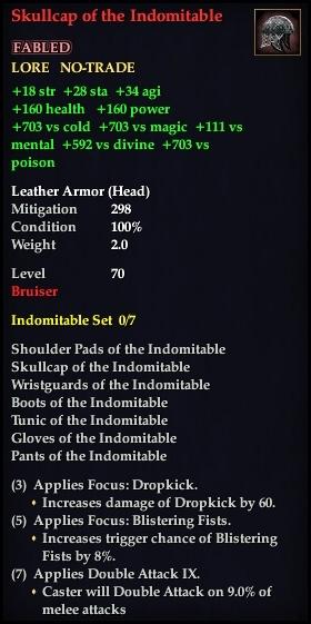 Skullcap of the Indomitable (Version 1)