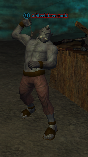 A Steelslave cook