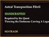 Astral Transposition Fibril