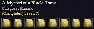A Mysterious Black Tome (Collection)