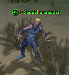 A Samiel marauder (The Sinking Sands)