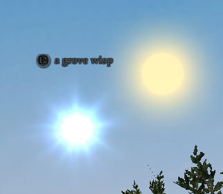 A grove wisp