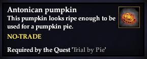 An antonican pumpkin