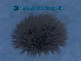 An armorclad ice urchin