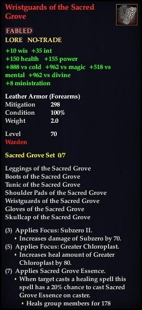 Wristguards of the Sacred Grove (Version 1)