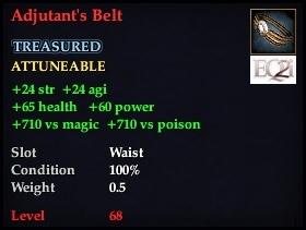 Adjutant's Belt
