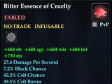 Bitter Essence of Cruelty