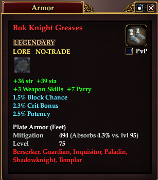 Bok Knight Greaves
