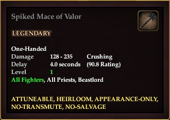 Spiked Mace of Valor