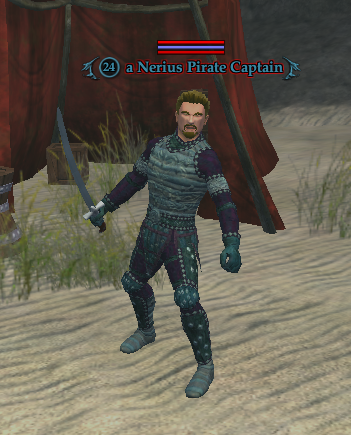 A Nerius Pirate Captain