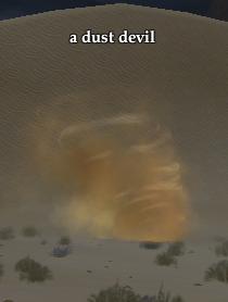 A dust devil