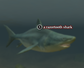 A razortooth shark