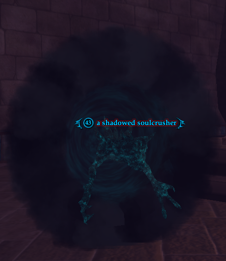 A shadowed soulcrusher