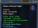 Cloak of Eternal Night