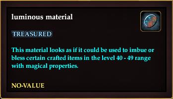 Luminous material