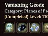 Vanishing Geode (Collection)
