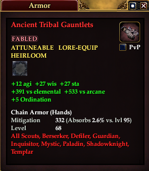 Ancient Tribal Gauntlets (Version 1)