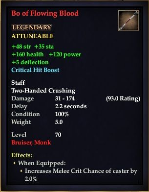 Bo of Flowing Blood (Level 70)