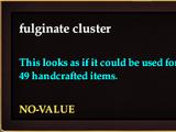 Fulginate cluster