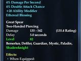 Blessed Brellium Great Spear