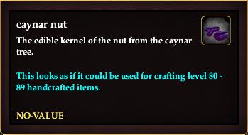 Caynar nut