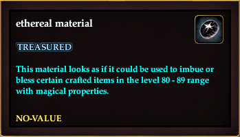 Ethereal material (Item)