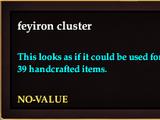 Feyiron cluster