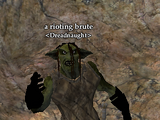 A rioting brute