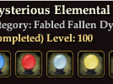 Mysterious Elemental Cores