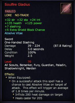 Soulfire Gladius (Version 1)