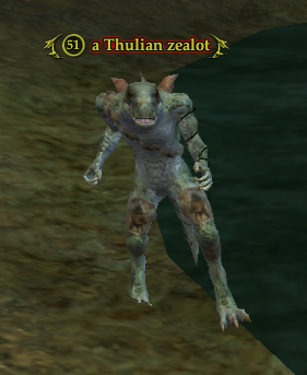 A Thulian zealot (Dythra's Lair)